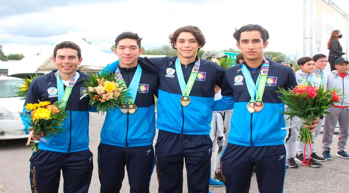 Sumó BCS 5 medallas en el ciclismo de ruta