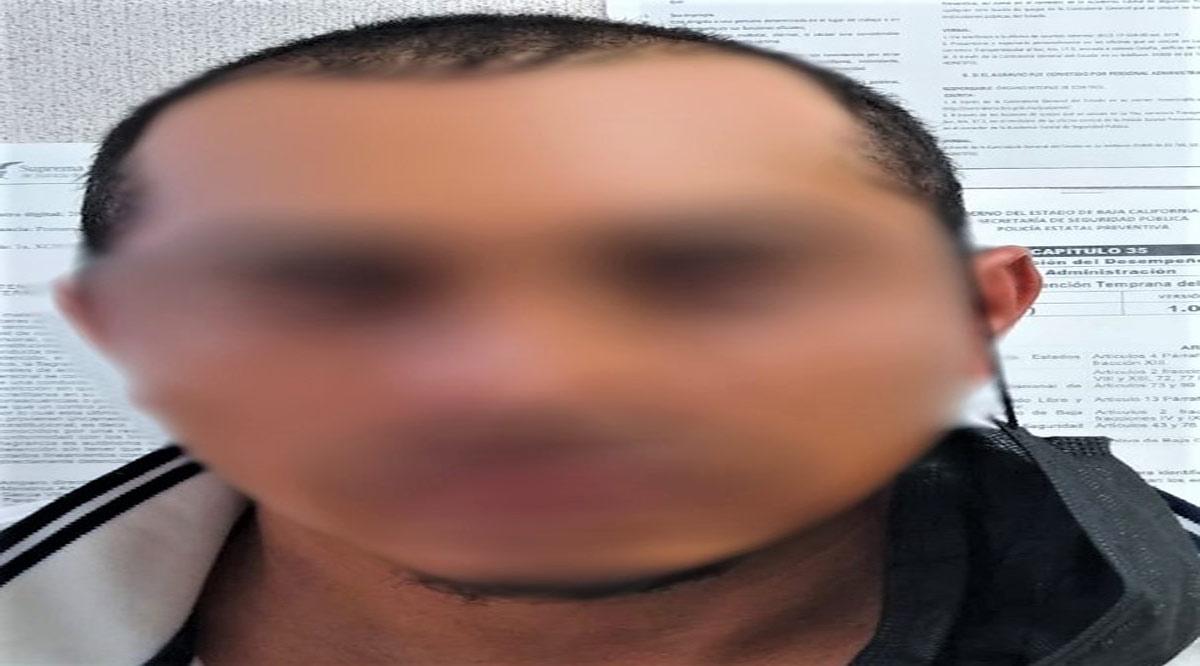 Detienen a sujeto con vehículo robado en Mulegé
