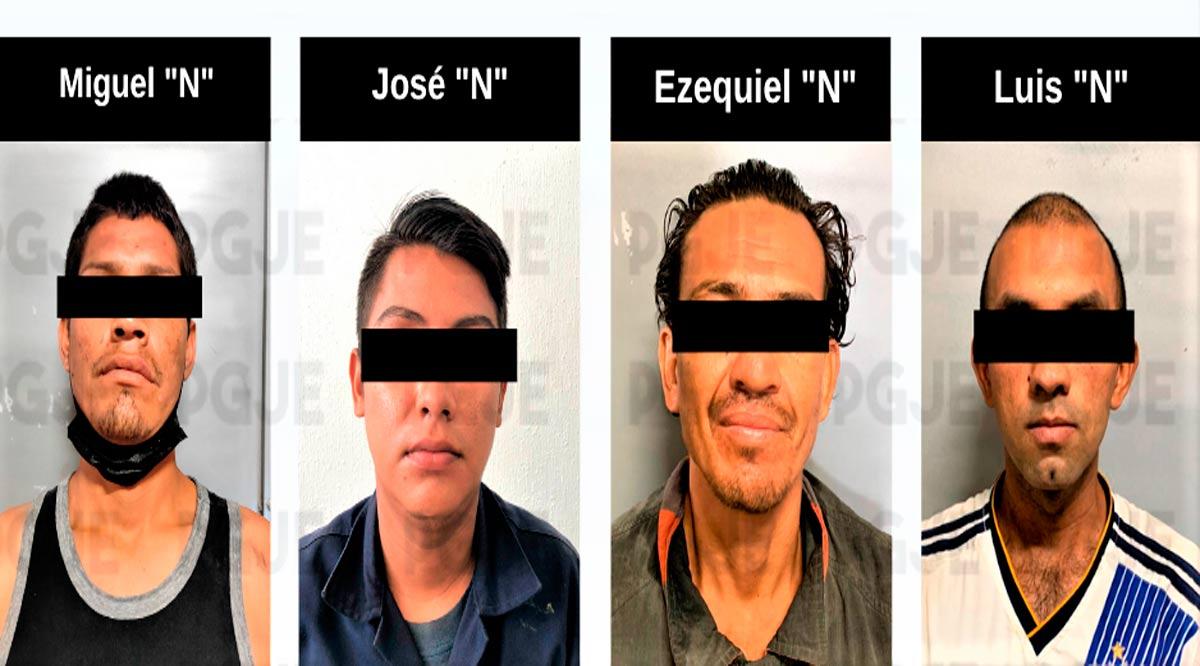 Aprehenden a 4 sujetos en La Paz y Los Cabos