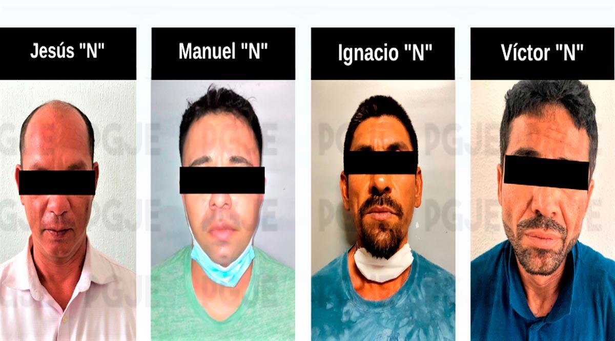 Detienen a 5 personas en BCS por su probable relación en hechos delictivos