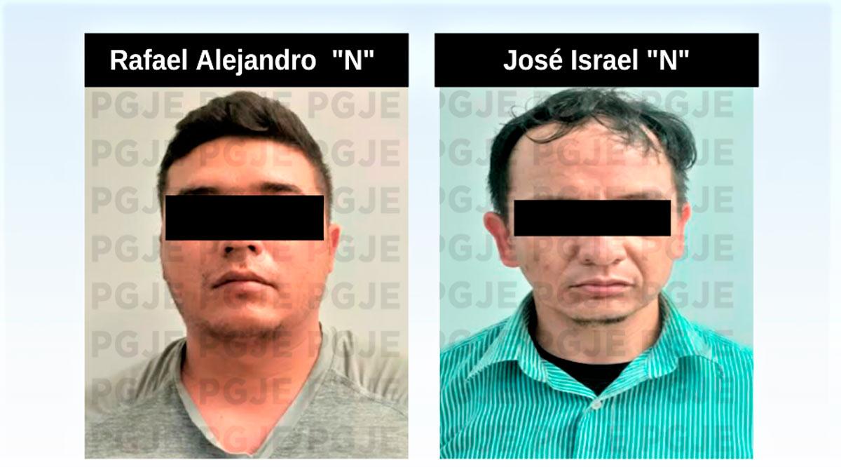 Aseguran a 2 personas en La Paz en posesión de 460 dosis de droga