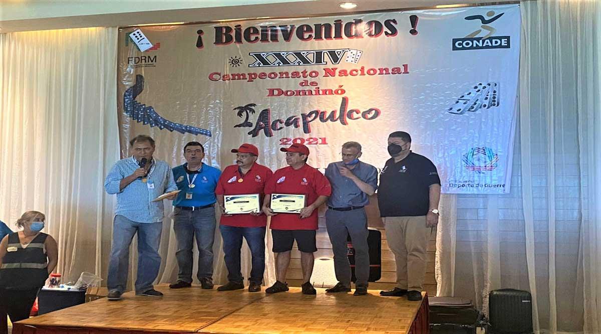 Triunfan dominoístas de BCS en torneo nacional