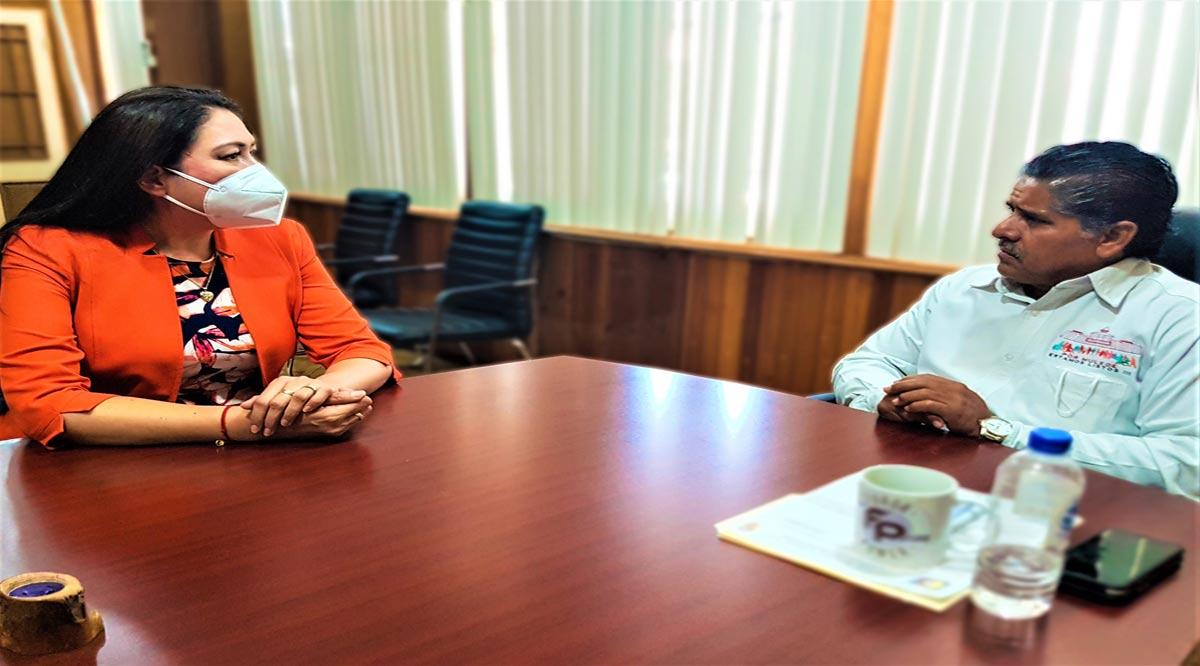 Abordan Edith Aguilar y Felipe Prado el proceso de entrega-recepción en Mulegé