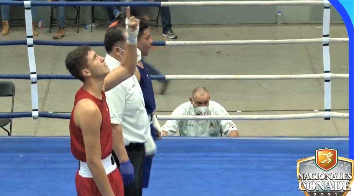 Obtuvo el oro el boxeador Emiliano Reducindo en la categoría 80 kilogramos