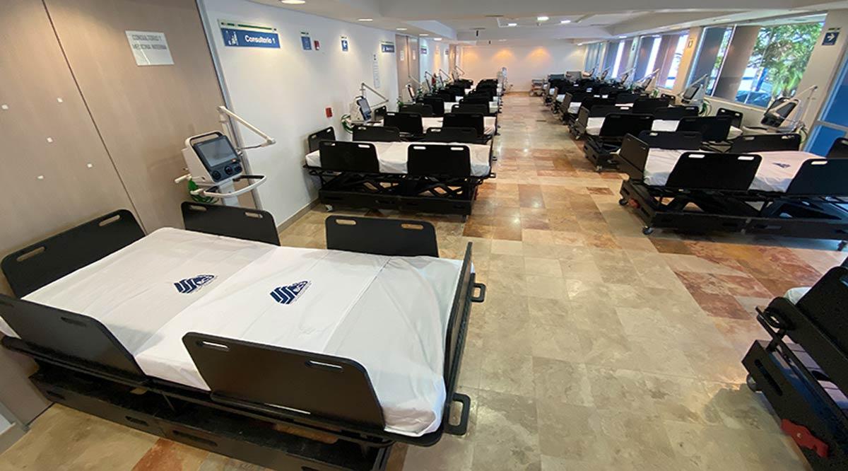 Expanden capacidad del Hospital General de CSL a 100 camas