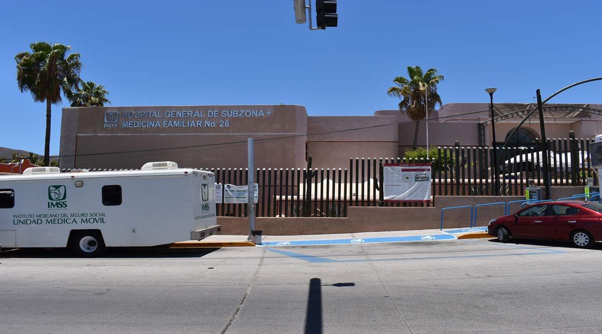 Recibió el Centro de Atención Temporal del IMSS en CSL a los primeros pacientes Covid