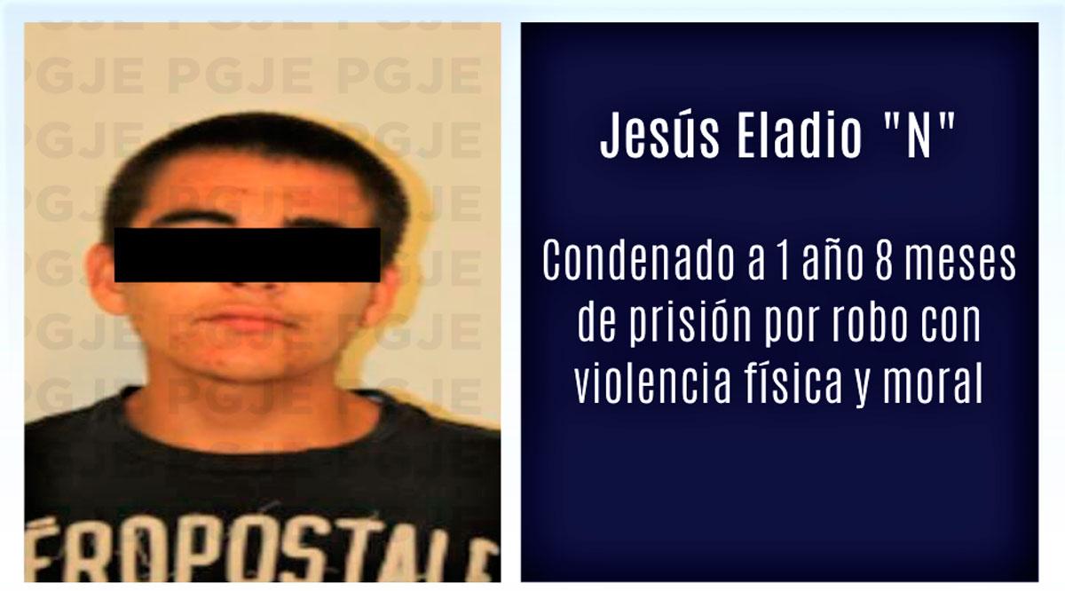 Sentenciado 1 año 8 meses por robo con violencia en La Paz