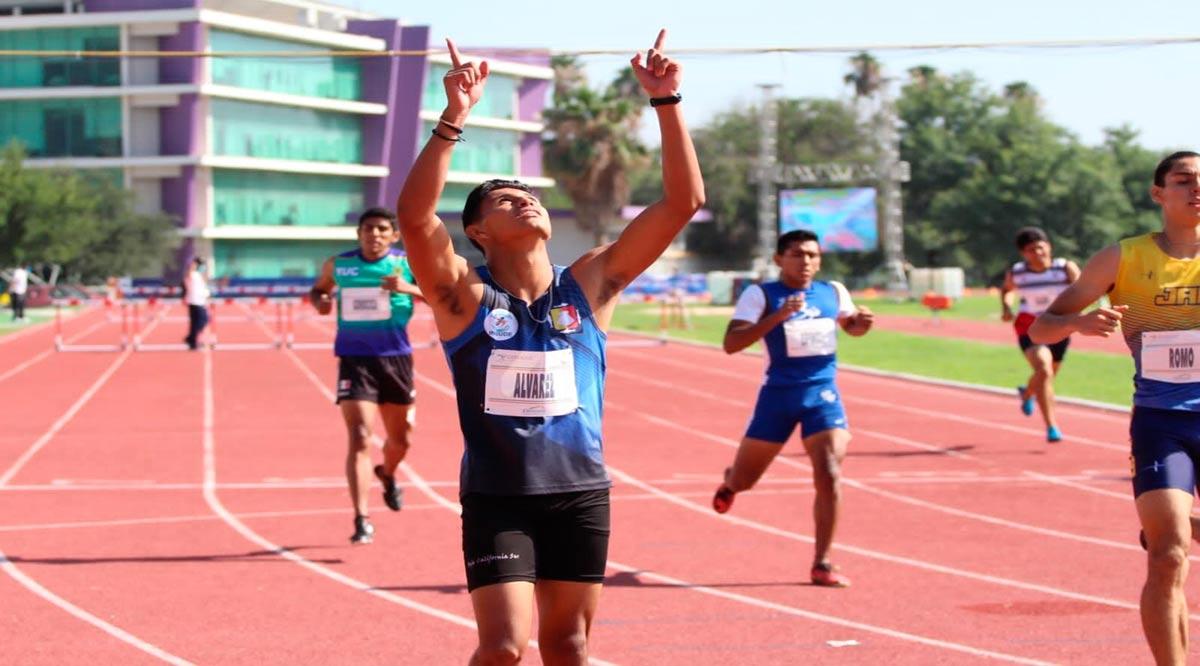 Oro para Julián Álvarez en 400 metros con vallas
