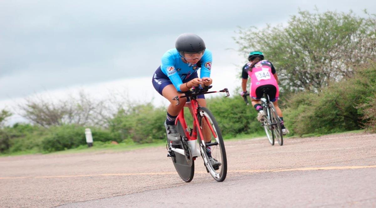Consiguió Luna García el bronce el ciclismo