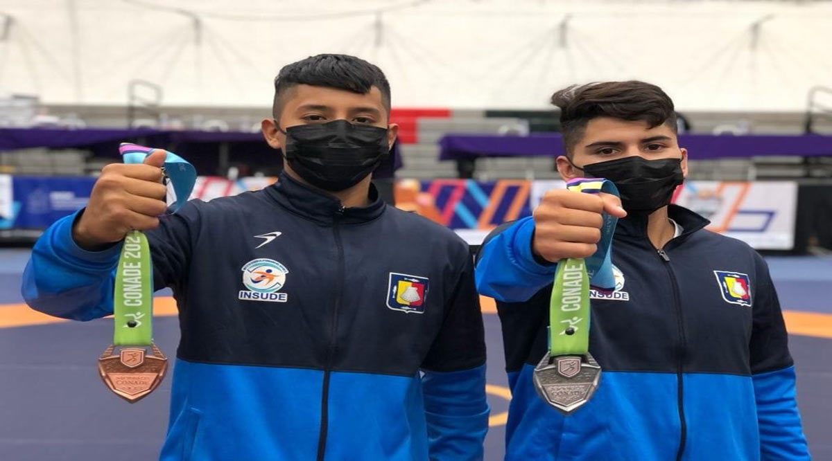 Suma plata y bronce la selección de BCS en luchas asociadas