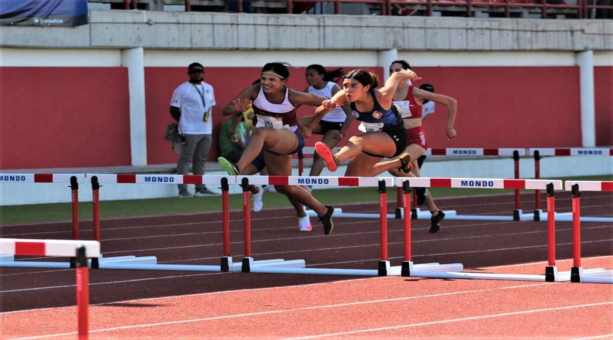 Consiguió el oro Nadia Jurado en 100 metros con vallas
