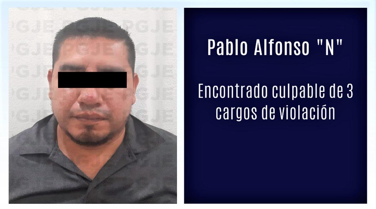 Encuentran a sujeto culpable de 3 cargos de violación en Loreto