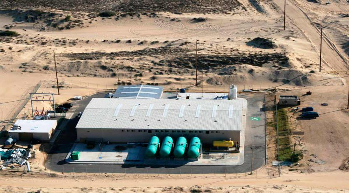 Colocarían primera piedra de la segunda planta desalinizadora de Los Cabos en septiembre