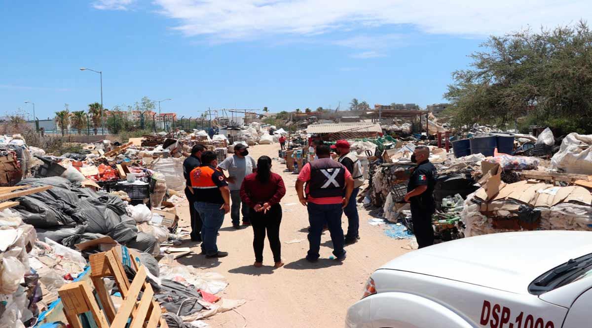 Supervisan que recicladoras de CSL cumplan con medidas de seguridad y salud