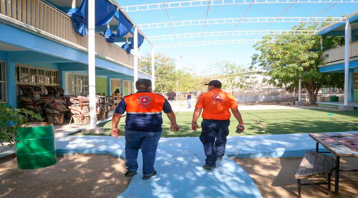 Supervisan refugios temporales en CSL que están contemplados en el plan B