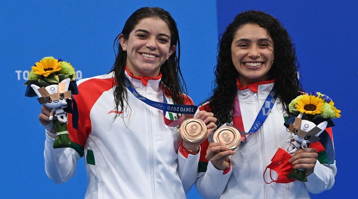 Gaby  Agúndez y Alejandra Orozco obtienen medalla de bronce en la Olimpiada