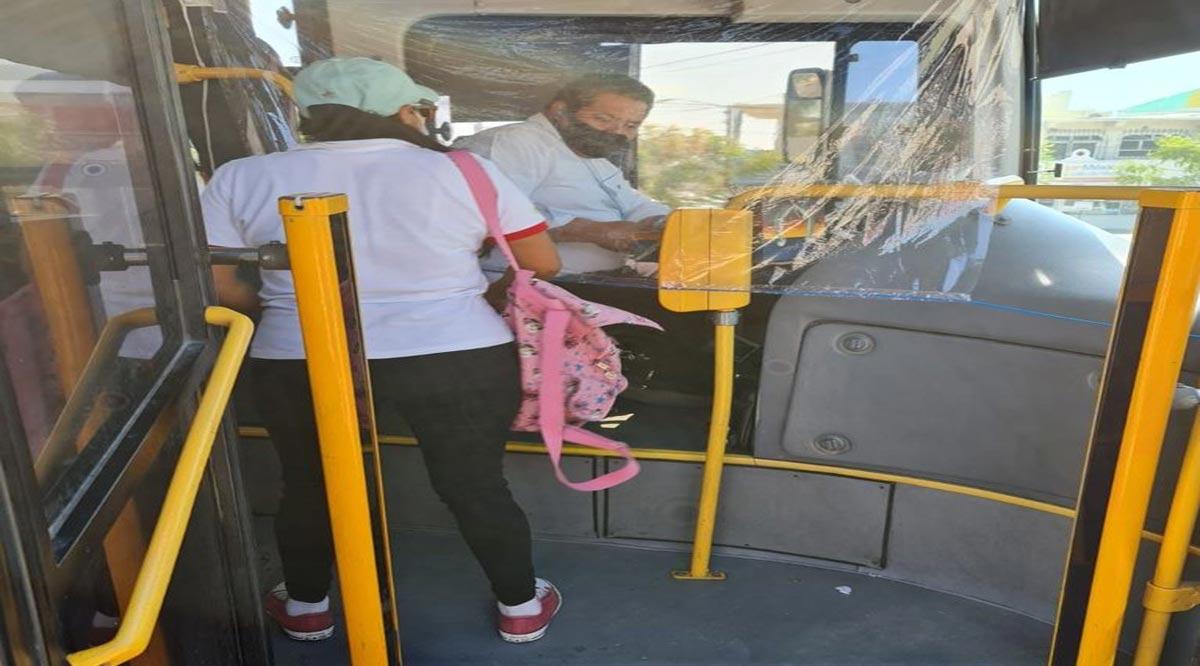 Infraccionan en Los Cabos de 7 a 10 transportes públicos federales a la semana por no respetar aforos