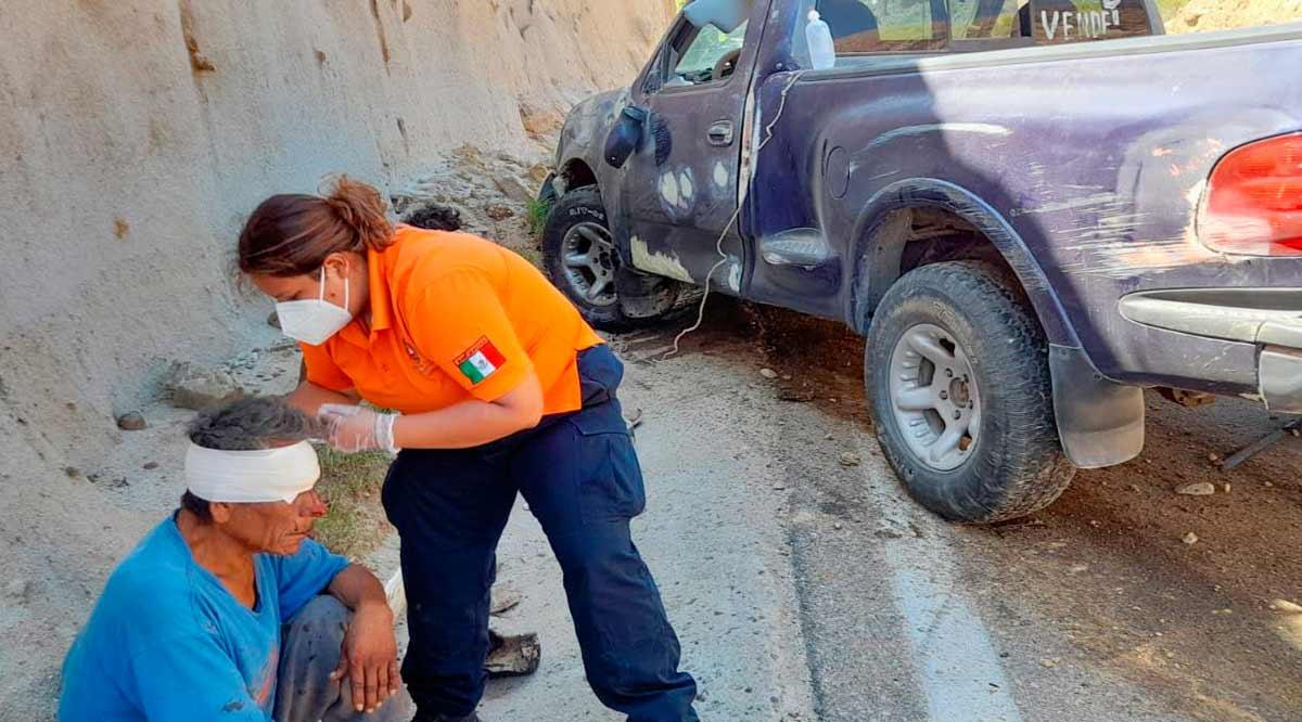 Atiende Protección Civil hasta 10 accidentes vehiculares a la semana en Los Cabos