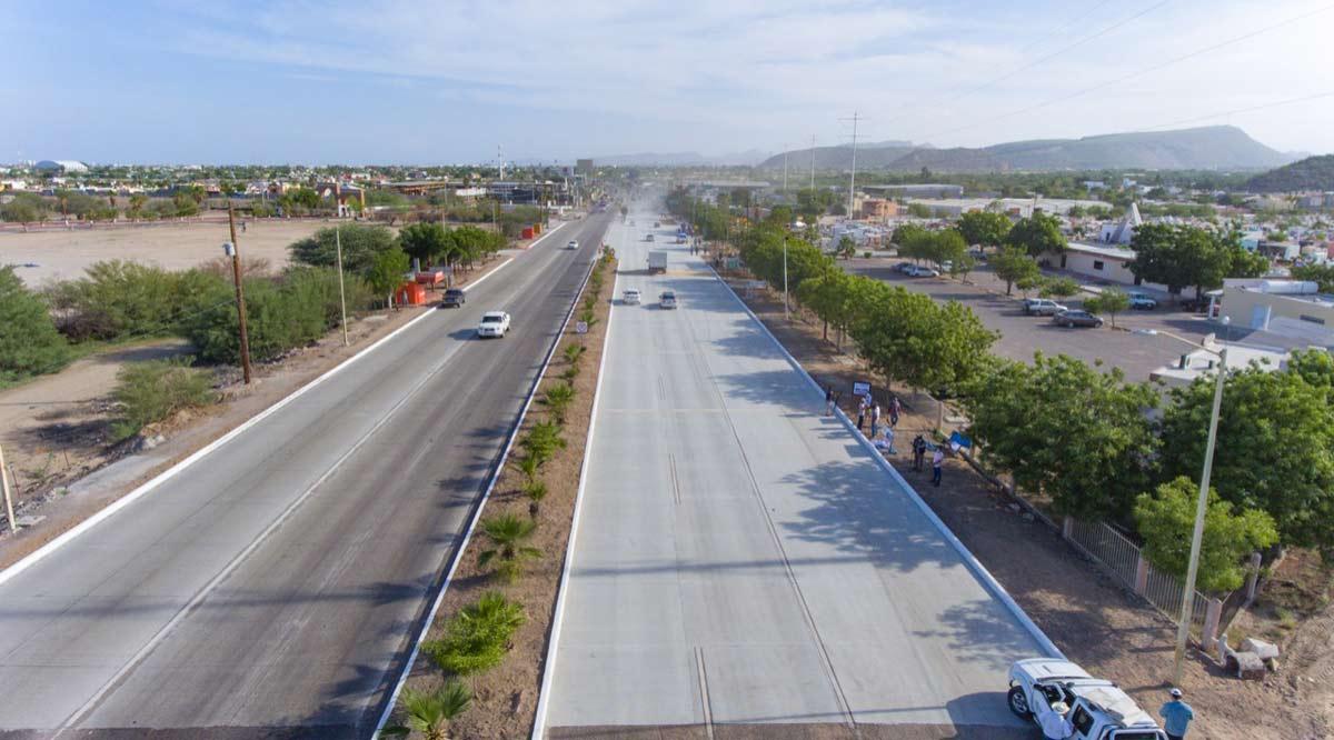 Reabren en La Paz el tramo reparado del bulevar Forjadores