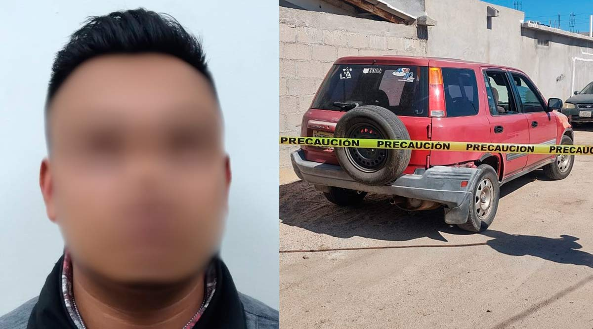 Detienen a secuestrador en terminal aérea de Los Cabos y recuperan  un automóvil