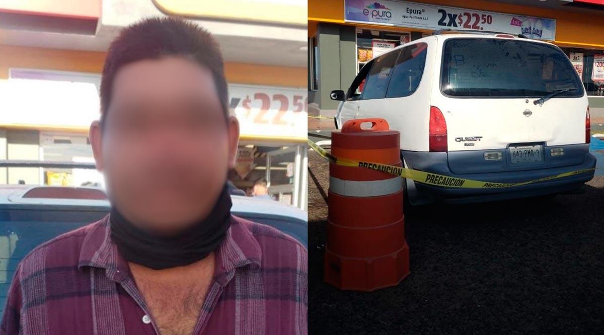 Detienen a un sujeto con un vehículo robado en La Paz