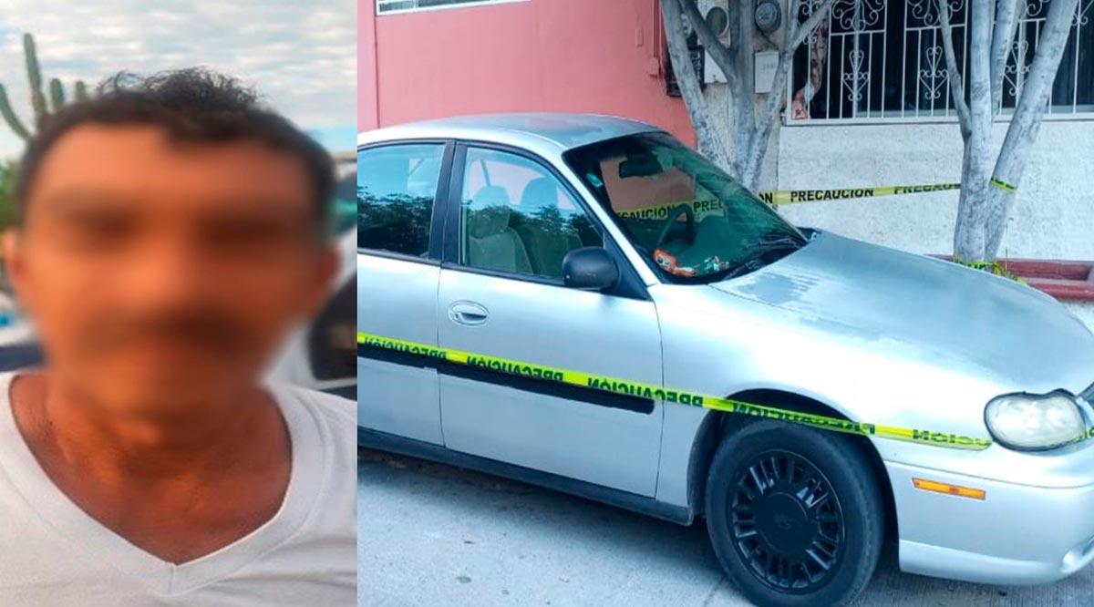 Capturan a un sujeto con orden de aprehensión y recuperan un auto en La Paz