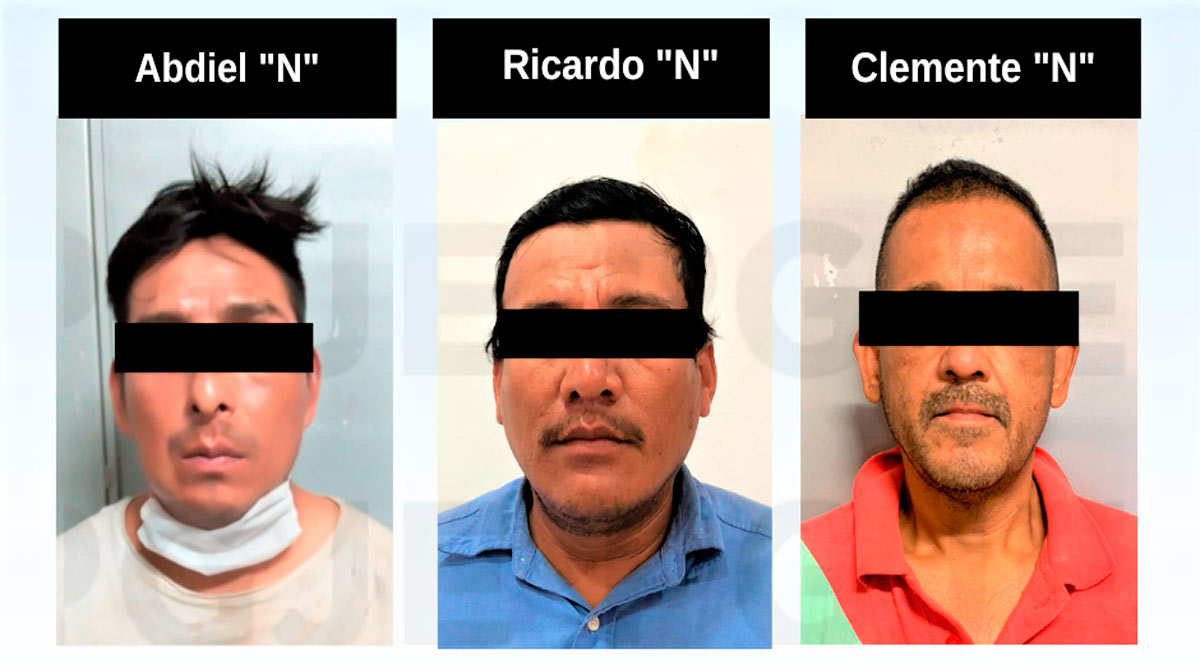 Detienen a 3 personas por la comisión de diversos delitos en BCS