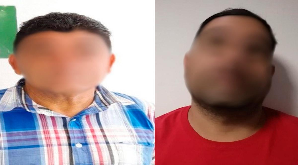 Capturan a 2 sujetos por la comisión de delitos en La Paz
