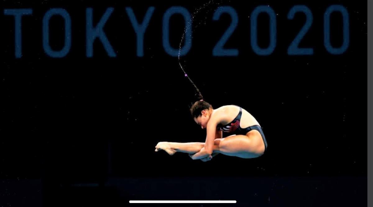 Satisfecha Gaby Agúndez con su desempeño en Tokio 2020