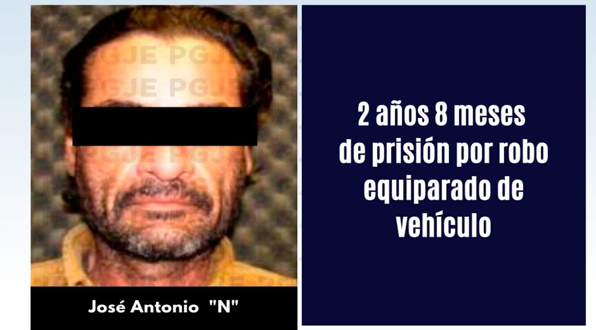 Sentencian a sujeto por robo equiparado de vehículo en La Paz