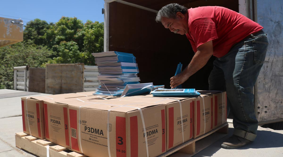 Entregarán más de un millón de libros de texto gratuito de nivel básico en BCS