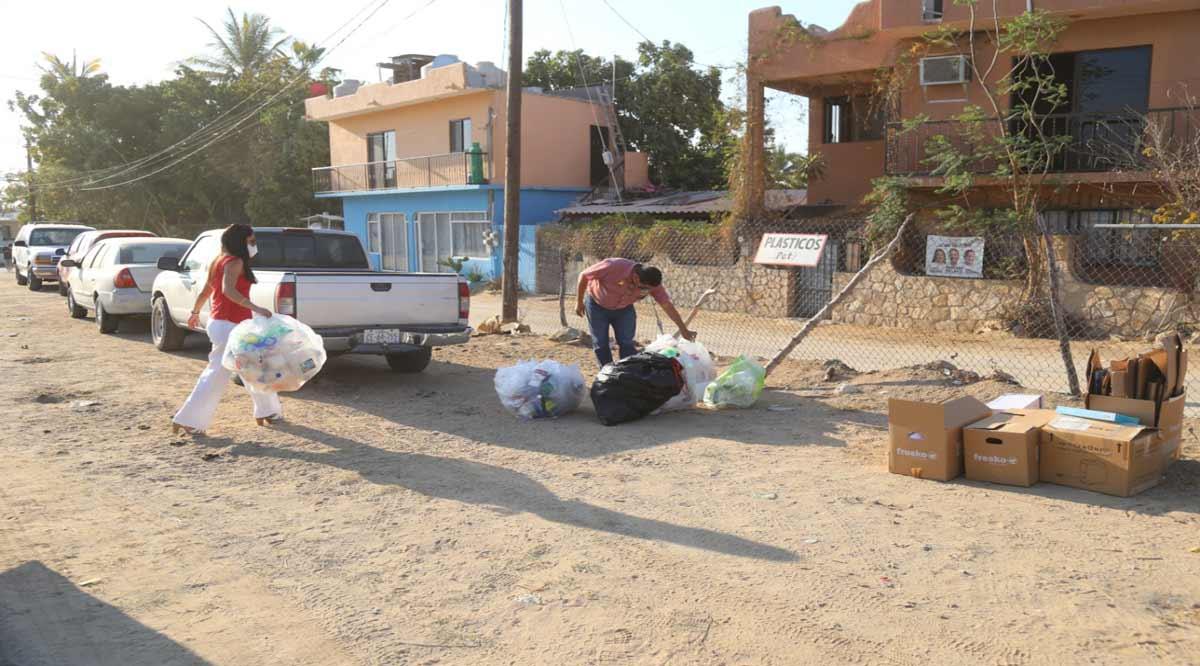 """Vuelve el programa """"Reciclando con Servicios Públicos"""" en Los Cabos"""