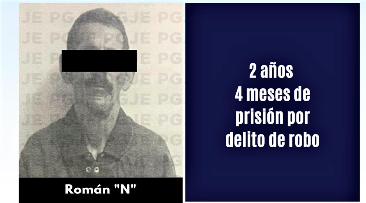 A prisión sujeto por robo con violencia en La Paz
