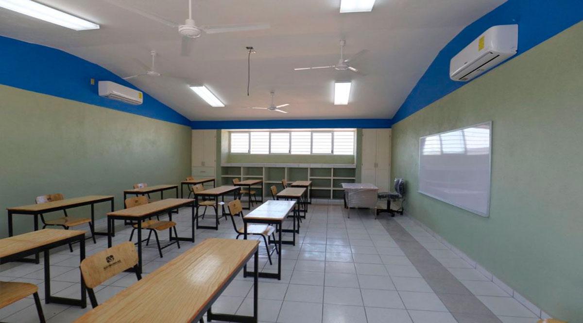 Supervisan instalaciones educativas previo al inicio de clases presenciales en BCS
