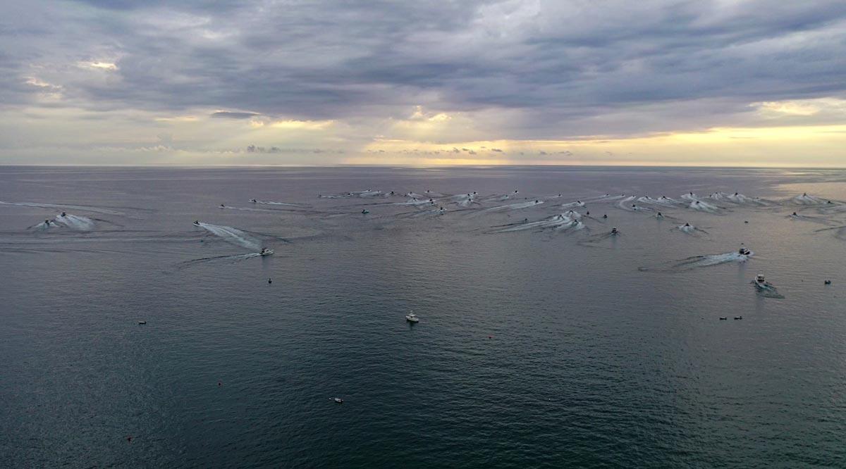 Participan 100 embarcaciones en el Bisbee's East Cape Offshore 2021