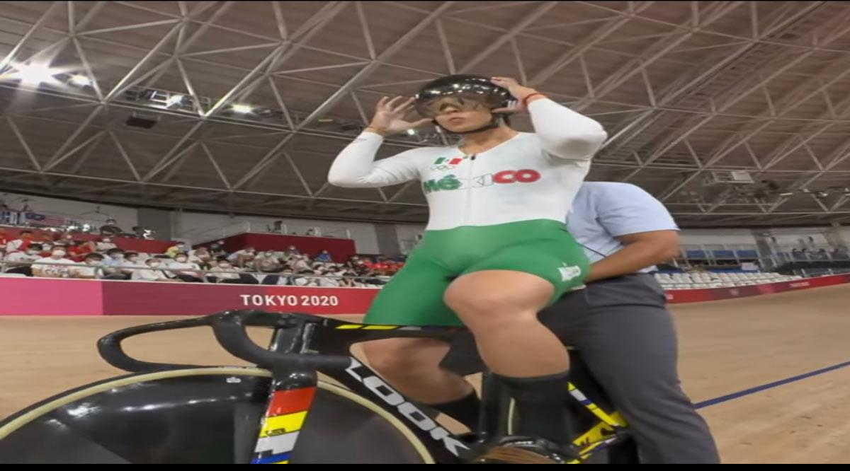 Va Yuli Verdugo en el keirin olímpico