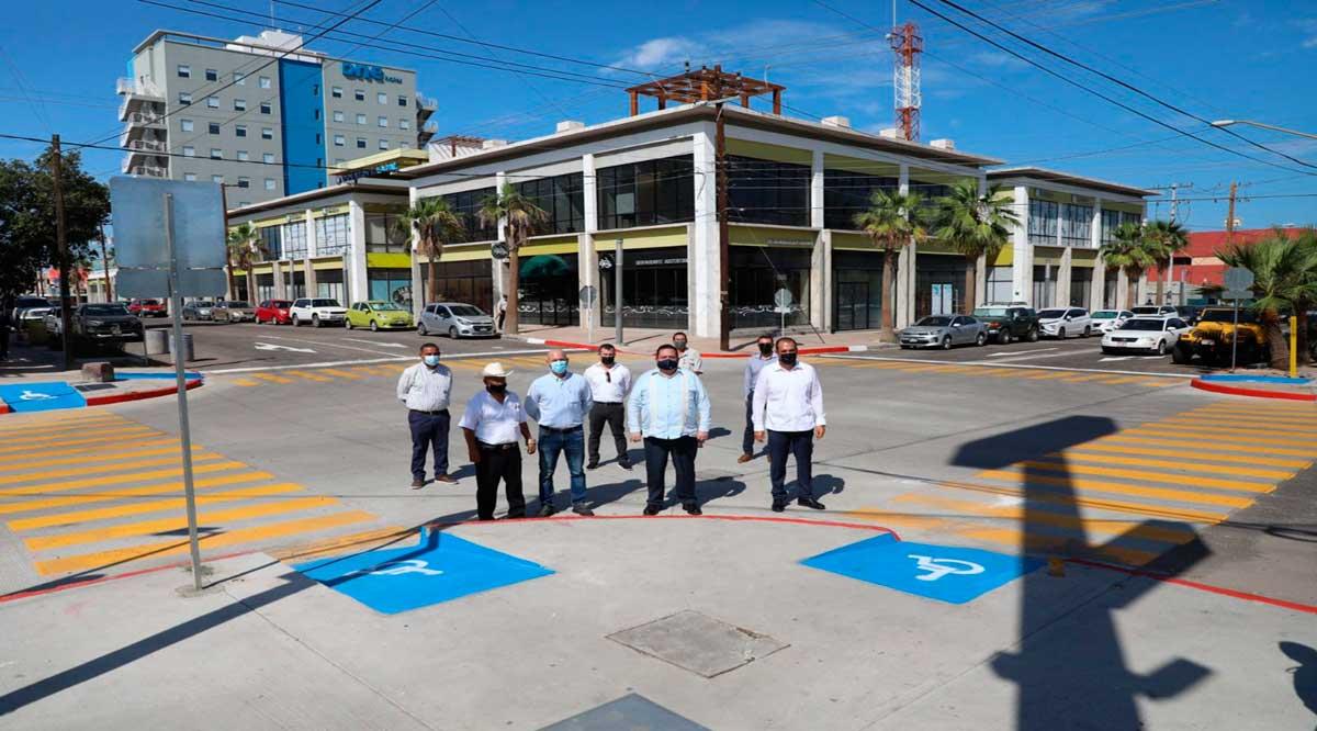 Entregan nuevas obras viales en La Paz