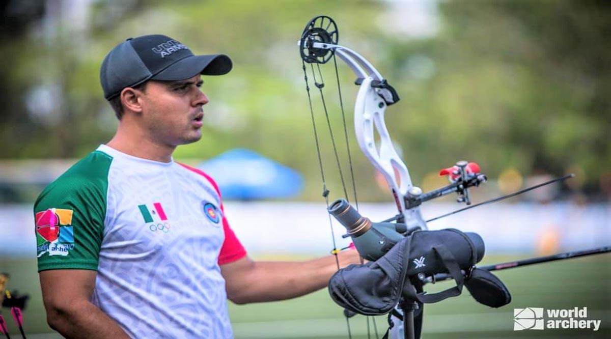 Se prepara Antonio Hidalgo para el Mundial de Tiro con Arco