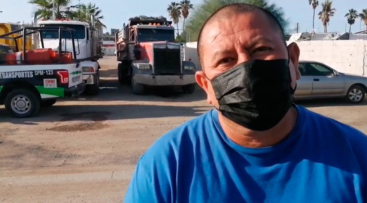 Se queda La Paz sin recolección de basura
