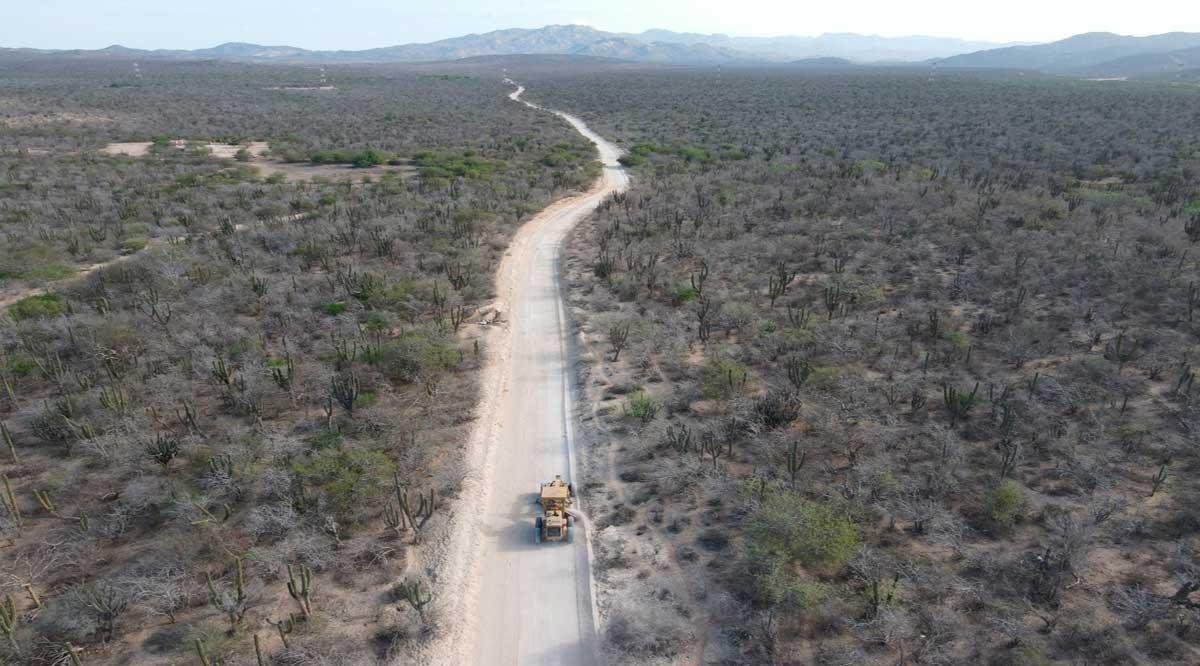 Evalúan daños en más de 1,200 km de la red estatal de caminos de La Paz y Los Cabos