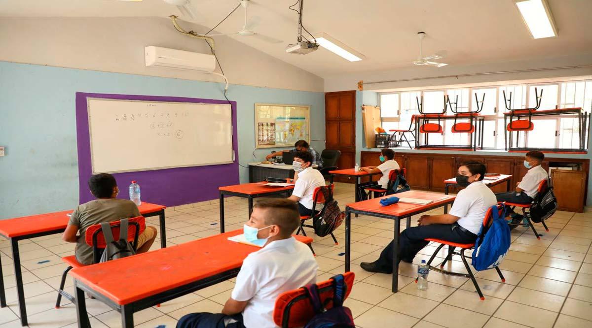 Sólo ha regresado a las aulas alrededor del 8% de la matrícula de educación básica en BCS