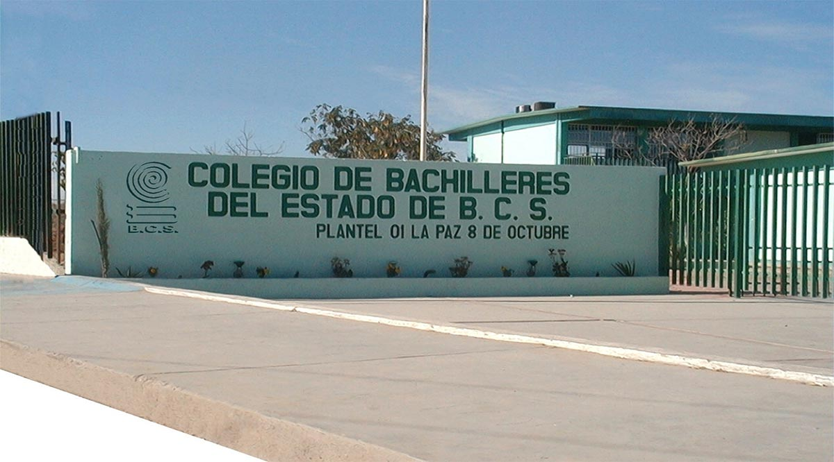 Inician ciclo escolar las preparatorias de BCS el 6 de septiembre
