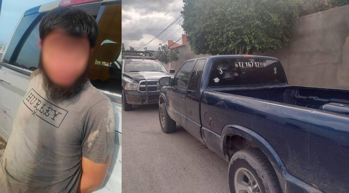 Detienen en La Paz a un sujeto por robo y localizan vehículo robado