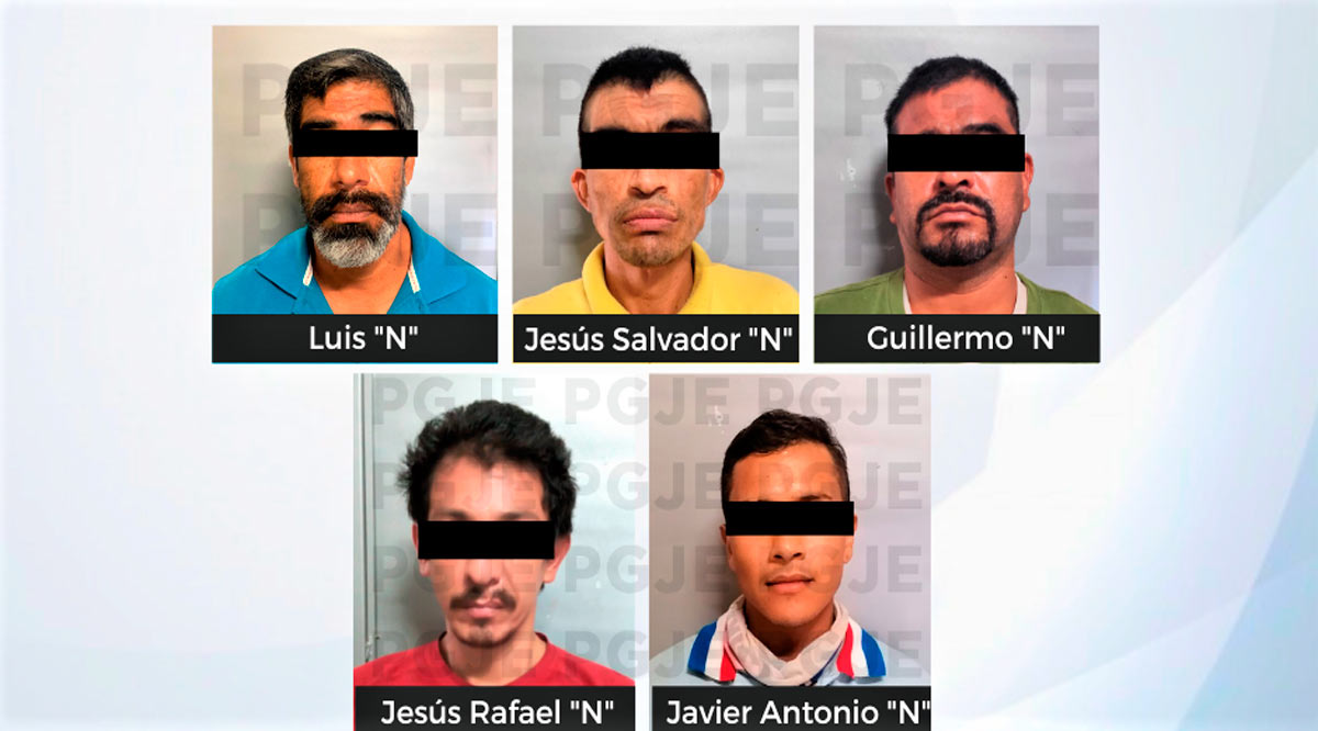 Aprehenden a 5 sujetos por diversos delitos en La Paz