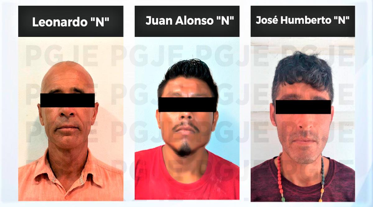 Aprehenden a 3 sujetos en BCS por su probable participación en delitos