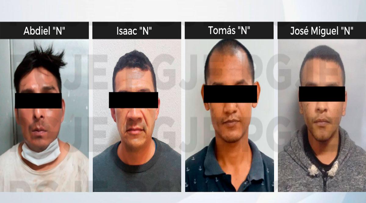 Aprehenden a 4 sujetos por su probable participación en diversos delitos en BCS