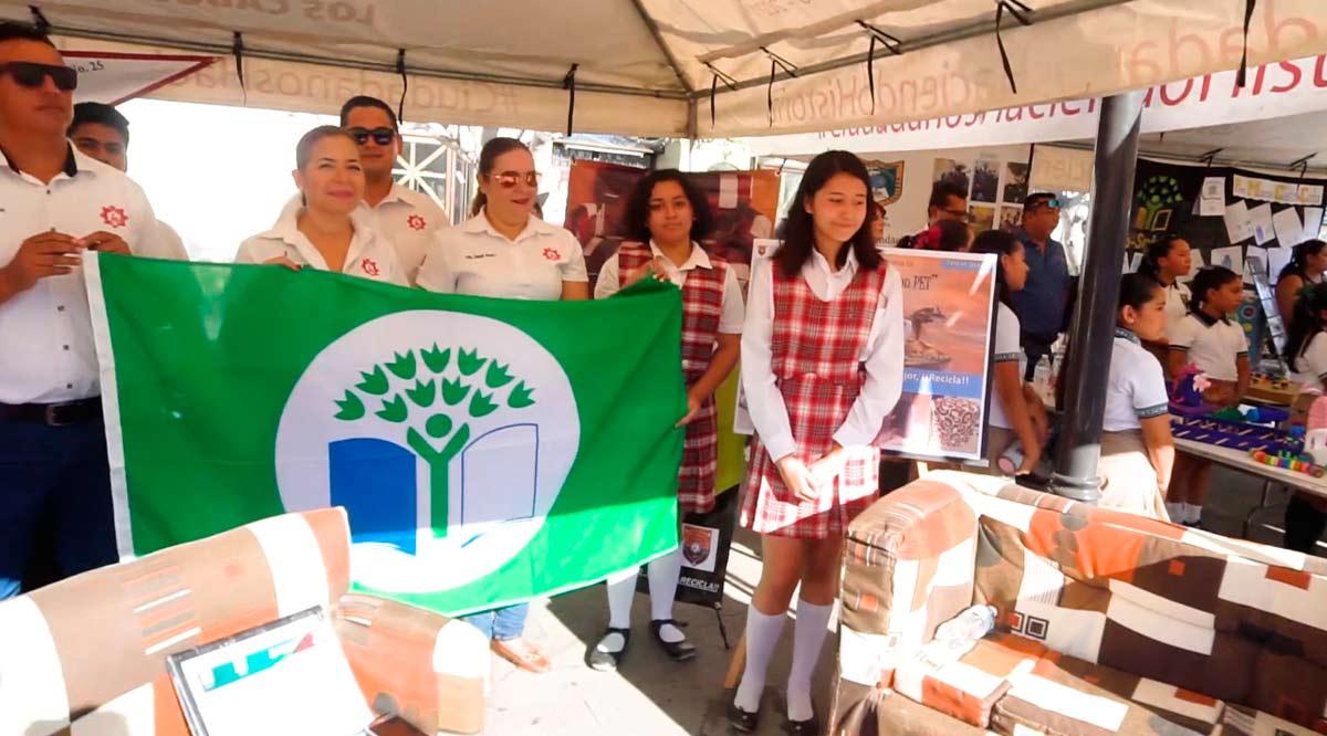 Tiene Los Cabos el primer lugar nacional en eco-escuelas