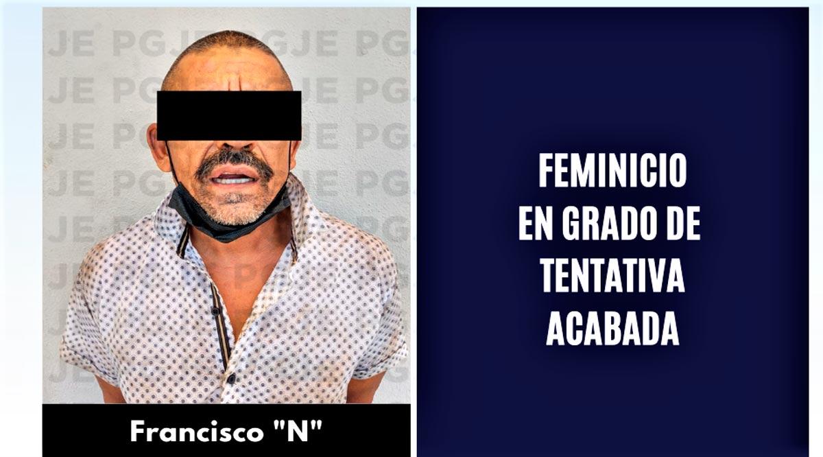 Prisión preventiva a sujeto por feminicidio en grado de tentativa agravada en La Paz