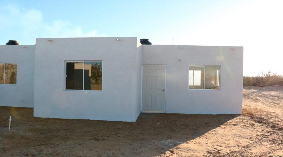 Construirá gobierno de BCS viviendas para personas de escasos recursos en Los Cabos