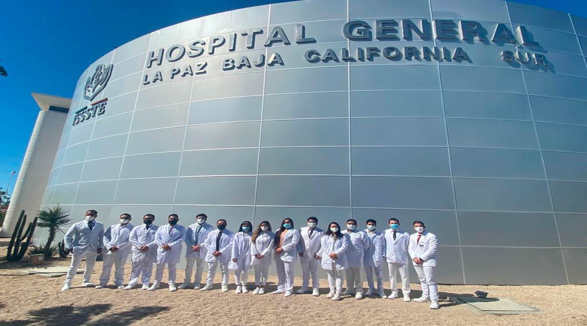 Realizan 45 internos y residentes estudios en el Hospital General del Issste en La Paz